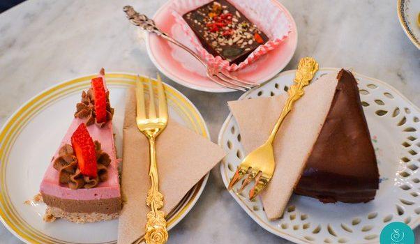 Tour de Vienna alebo smoothies, raw cakes, organic coffee, salads and wine